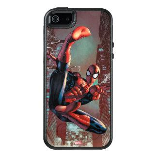 Spider-Man Web Slinging In City Marker Drawing OtterBox iPhone 5/5s/SE Case