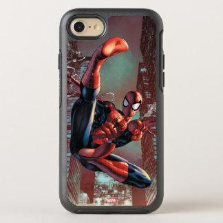 Spider-Man Web Slinging In City Marker Drawing OtterBox Symmetry iPhone 7 Case