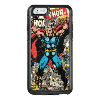 Thor Retro Comic Collage OtterBox iPhone 6/6s Case